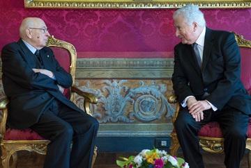 """Gattegna al presidente Napolitano:<br/> """"Apprezzamento per la sua scelta"""""""