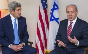 U.S. Secretary of State Kerry meets Israel's PM Netanyahu in Jerusalem
