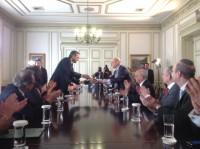 Ejc con Antonis Samaras