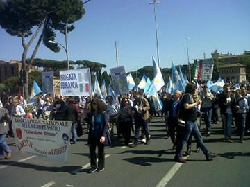 25 aprile – In piazza con la Brigata ebraica
