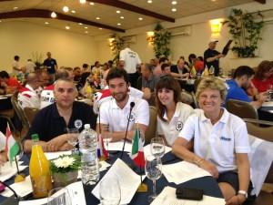 Delegazione Italiana al Congresso Mondiale Maccabi in Israele