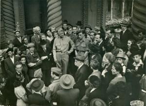 Vittorio Dan Segre - Torino 1945 riapertura sinagoga