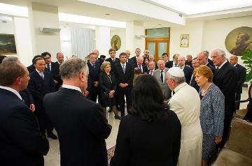 Il World Jewish Congress incontra Bergoglio