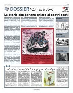 cover dossier Comics&Jews 2014