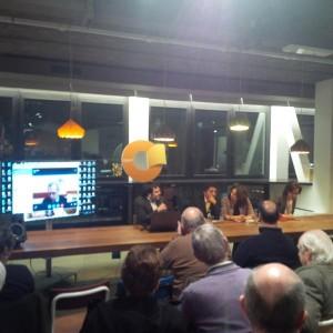 NL 141212 - Enrico Mentana-Daniele Nahum-Ben Dror Yemini-Lia Quartapelle - Milano - spazio open