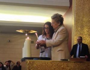 Liliana Segre candela
