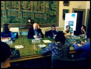 Conferenza stampa Ferrara Festa libro ebraico