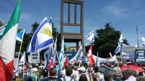 Manifestazione Ginevra - folla
