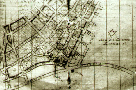ebrei shangai - mappa