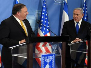 PM Netanyahu with US Secretary of State Mike Pompeo
