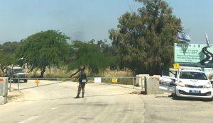 confine gaza