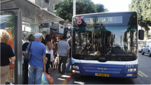 Taglio alto dx – Bus di Shabbat – 3500 - 1 foto