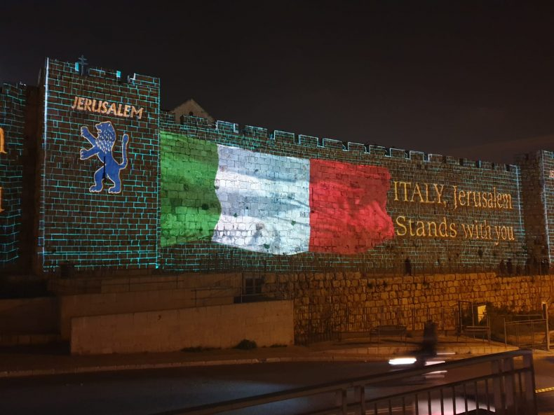 Risultato immagini per israele solidarieta italia