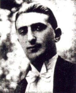 Il violinista e compositore ebreo polacco Artur Gold